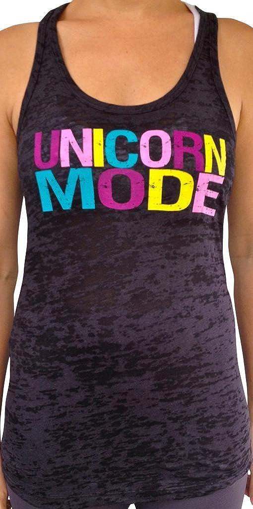 SoRock Women's Unicorn Mode Top Ranking TOP8 Burnout Tank Shipping included