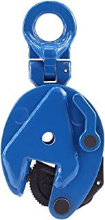 Amarite Vertical Plate Clamp, 1760lbs Working Load Limit, Jaw Opening up to 0.6