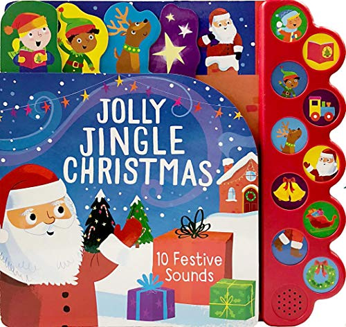 Jolly Jingle Christmas (Interactive Children's Sound Book with 10 Festive Christmas Sounds)