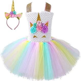 Unicorn Tutu Dress, Unicorn Birthday Outfit, Unicorn Headband, Birthday Dress
