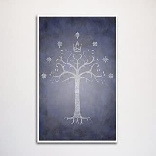 Return of the King word art print 11x17