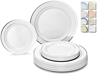 clear plastic dinner plates for wedding