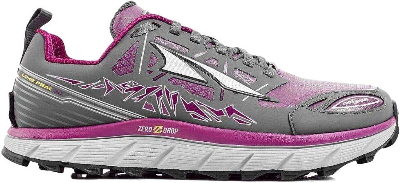 Altra Woherrar Lone Peak 3 Low Neo Neo Neo springaning skor, Färg  Grå  lila, Storlek  5.5, Brödd  D (A2653low -2 -055 -D)  hög kvalitet och snabb frakt