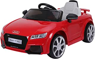 Aosom 6V Audi TT RS Kids Electric Sports Car Ride On Toy One Seat with Remote Control - Red