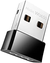 Best Cudy AC 650Mbps USB WiFi Adapter for PC, 5GHz/2.4GHz WiFi Dongle, WiFi USB, USB Wireless Adapter for Desktop/Laptop - Nano Size, Compatible with Windows XP/7/8/8.1/10, Mac OS Review