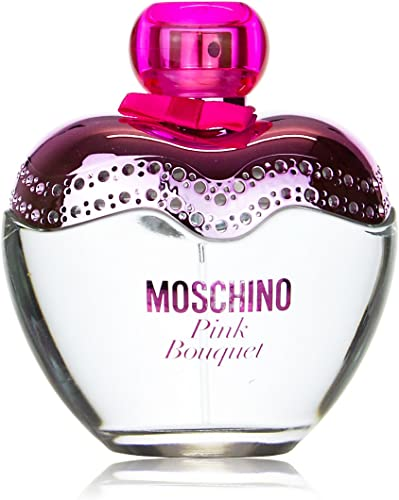 profumo donna moschino pink bouquet 100 ml edt 3,4 oz femme eau de toilette
