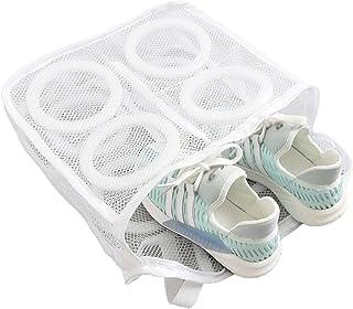 Sacs à Filet Linge pour Chaussures Sac en filet pour chaussures à linge Sac de lavage Filet à Linge avec Fermeture éclair ...