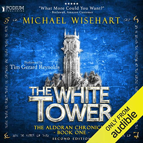 The White Tower audiobook cover art