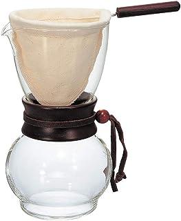 Hario Woodneck Drip Pot, 480ml, Dark Wood