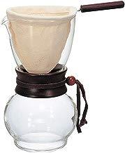 Conjunto Jarra com Coador de Pano HARIO Marrom Escuro 480 ml