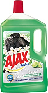 Ajax Fabuloso Multi Purpose Cleaner, Lime Charcoal, 2L