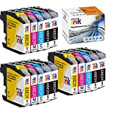 Starink 15 cartucce compatibili per Brother LC-223 LC223 XL, per Brother DCP-J562DW DCP-J4120DW MFC-J4420DW MFC-J4620DW MFC-J4625DW MFC J5320DW J5620DW J5625DW J5720DW J480DW J680DW 880DW