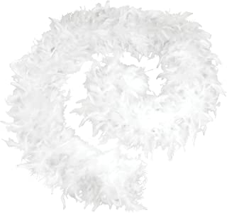 Bristol Novelty BA1672 Feather Boa 80g White, one Size