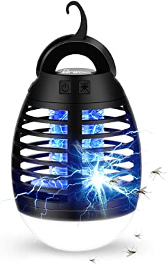 BroElec Bug Zapper Camping Lamp, Tent Light Bulb Portable Led and Emergency Lantern with Waterproof Mosquito Repellent Fly Ki