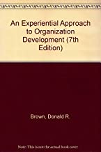 An Experiential Approach to Organization Development (7th Edition)