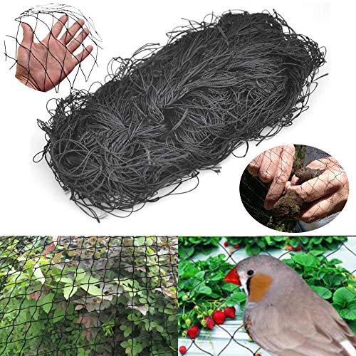 Nylon Noir Anti Bird Net Netting Garden Allotment Protection Against Birds for Fruit Crop Plant Tree Bird-Preventing Netting Easy Nets