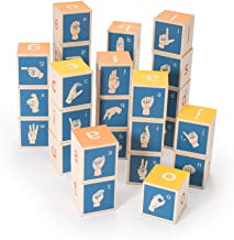 Uncle Goose American Sign Language Blocks - Made in The USA