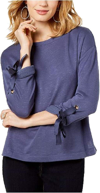 INC International Concepts I.N.C. TieCuff DropShoulder Sweater