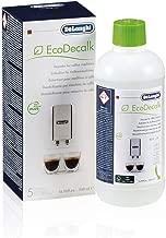 De'Longhi EcoDecalk SER3018 Entkalker | Universal Kalklöser für 5 Entkalkungsvorgänge | Für Kaffeemaschinen & Kaffeevollautomaten | Enthält nur natürliche Rohstoffe pflanzlichen Ursprungs | 500 ml