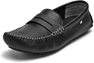 Men's Miami Nappa Leather Moccasin Toe Slip-On Loafer