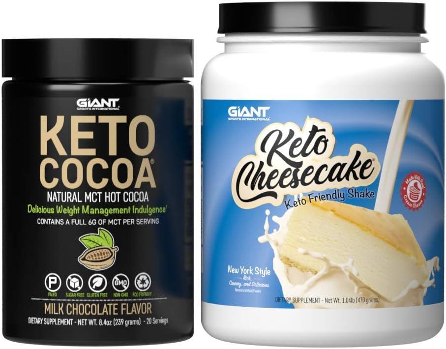 Keto Cheesecake and 贈答品 Cocoa 海外並行輸入正規品 Delicious Low Die Ketogenic Carb