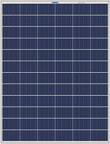 Luminous 160 Watt - 12V Poly Crystalline Solar Panel