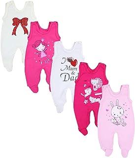 TupTam Peleles Estampados para Bebés Paquete de 5