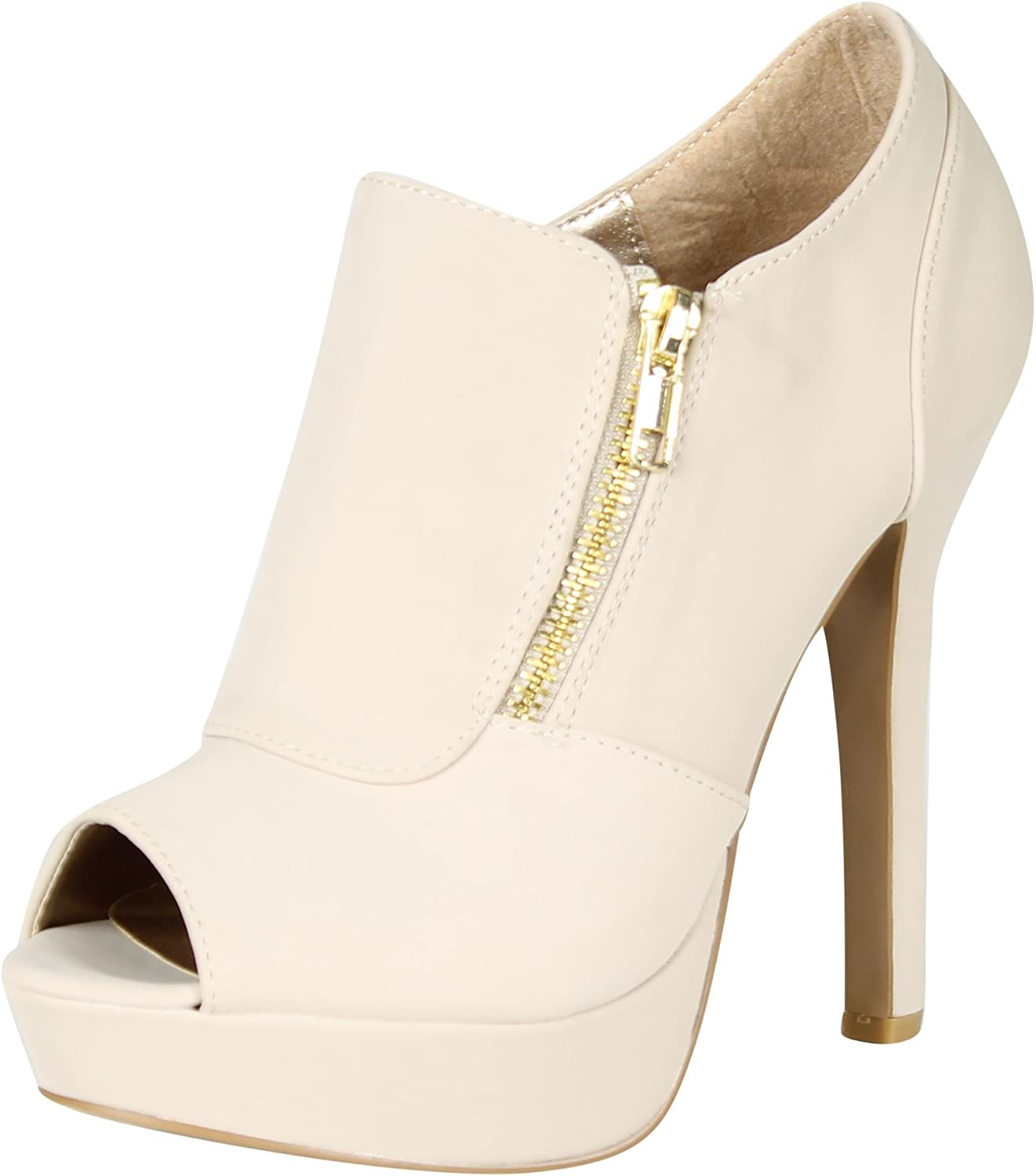 Qupid Women's Gaze-311 Pumps shoes