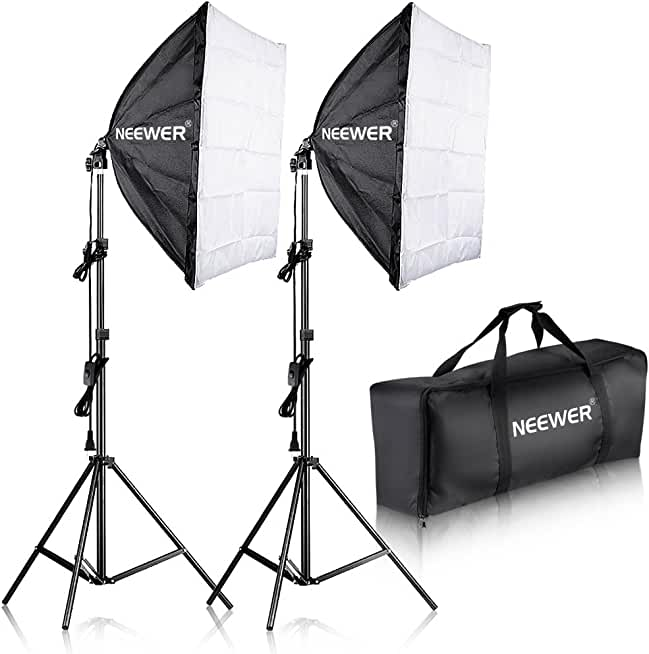 Neewer 700W Softbox Photography Lighting Kit