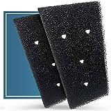 Plemont Juego de 2 filtros para secadora Bauknecht, Privileg & Whirlpool, filtro HX 481010716911, filtro de bomba de calor, filtro de esponja (2 piezas)