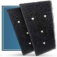 plemont [2 pezzi] filtri per asciugatrice per bauknecht, privileg e whirlpool i filtro per asciugatrice filtro hx 481010716911 i filtro per asciugatrice a pompa di calore, filtro in spugna