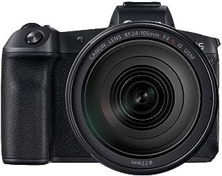 Canon EOS R - Cámara compacta de 30.3 MP (Wi-Fi Bluetooth Sensor Dual Pixel CMOS AF ISO 4K) Negro - Kit con F24-105mm f/4 L IS USM y Mount Adapter EF-EOS R