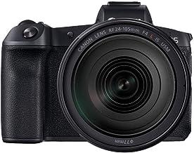 Canon EOS R Vollformat Systemkamera mit Objektiv RF 24-105mm F4 L IS USM mit Bajonettadapter EF-EOS R (spiegellos, 30,3 MP, 8,01cm Clear View LCD II Display, DIGIC 8, 4K, WLAN, Bluetooth), schwarz