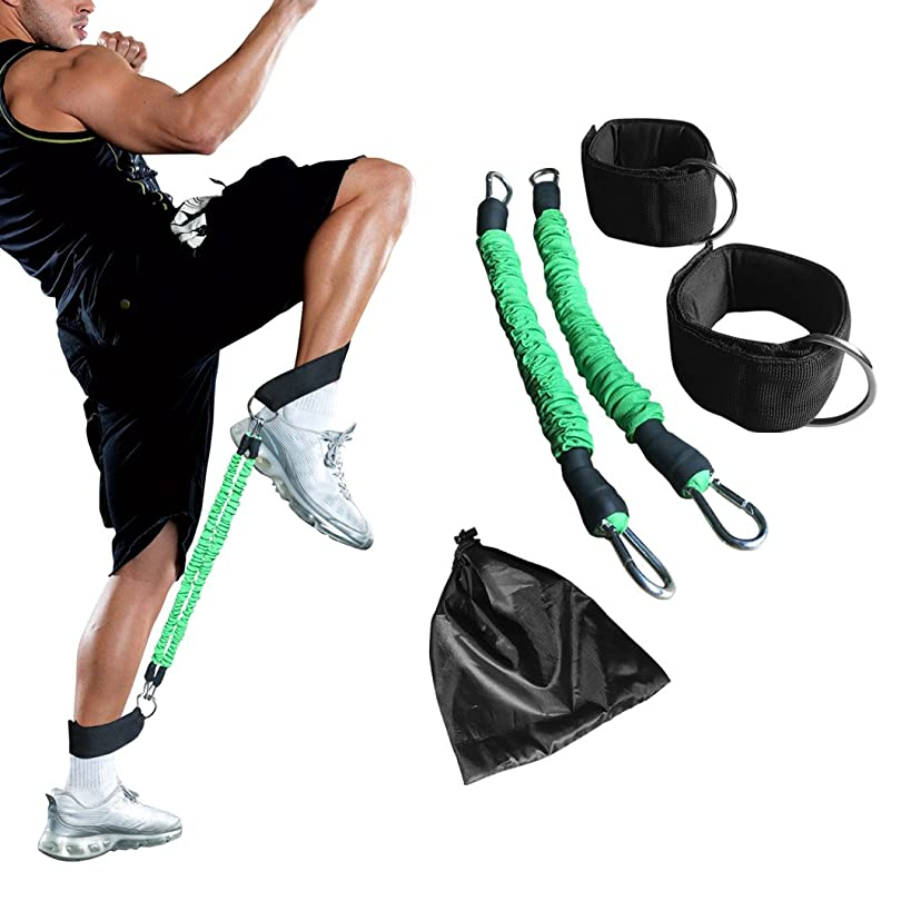 N3od3er Ankle Resistance Training Speed and Agility Training Tool Ankle Resistance Bands for Football Basketball Taekwondo Yoga Boxing Soccer Kick Boxing Thai Punch Karate Running