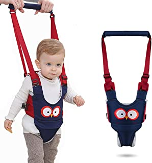 (Dark Blue) - Baby Walker, Adjustable Baby Walking Safety Harnesses,Breathable Stand Up and Walking Learning Helper for In...