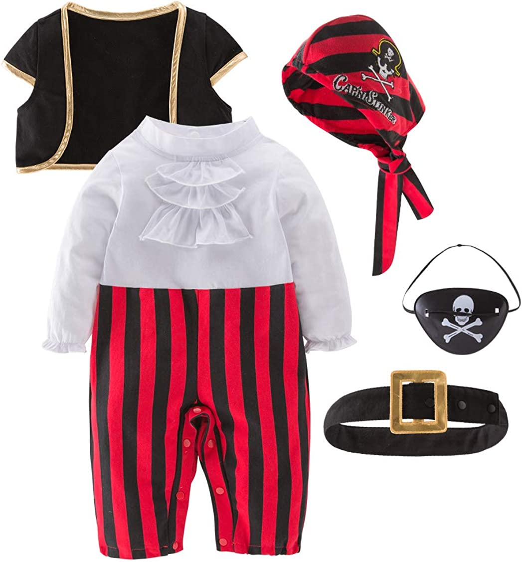 Max 58% OFF May's Baby Boys Captain Infant Costumes Pirate Cap Stinker Costu Seattle Mall