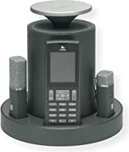 Revolabs 10-FLX2-101-POTS Model FLX 2 Cisco Compatible Analog Wireless Conference Phone for POTS Systems with 1 Omnidirectional Tabletop and 1 Wearable Microphone, Pack of 1