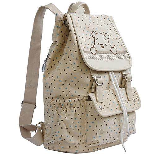 769786381f1 E.a@Market Korean Style Girl's Cartoon Canvas Shoulder Bag Students Backpack