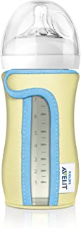 Philips Avent Glass Baby Bottle Sleeve, 8 Ounce (Colors...