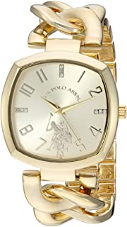 Women's Analog-Quartz Watch with Alloy Strap, Gold, 11...