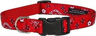 Sassy Dog Wear Red Bandana Dog Collar