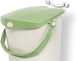 Mountable Kitchen Compost Bin by Zero Waste Together – 2 Gal, Under Sink or..