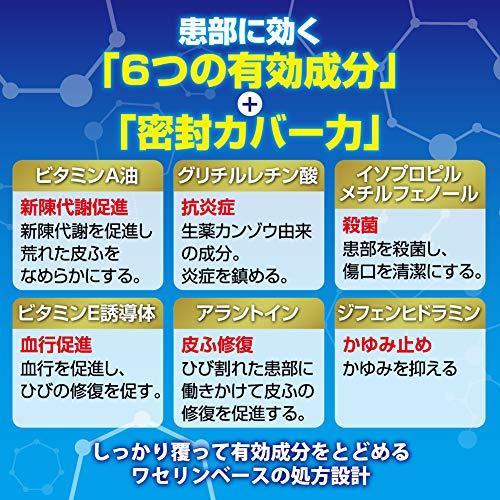 【第3類医薬品】メンソレータムヒビプロα16g