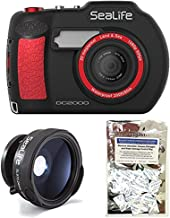 SeaLife DC2000 20MP Underwater Camera SL740 w/ Wide Angle Lens SL970 and Moisture Absorbers