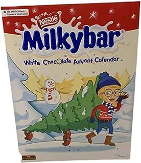 Nestle Milkybar Advent Calendar Imported Original Nestle Milkybar Advent Calendar Imported From The UK England British Milky Chocolate