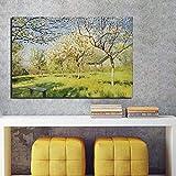 KWzEQ Cartel Retro Lienzo Sala de Estar decoración del hogar Moderno Arte de la Pared Pintura al óleo Imagen del Cartel,Pintura sin Marco,80x120cm