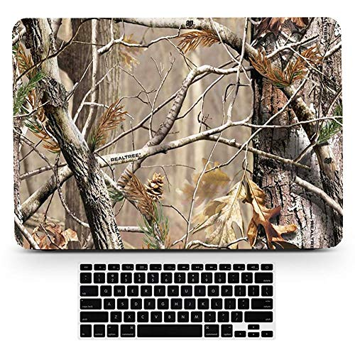 Bizcustom MacBook Pro13 CD-ROM Model A1278 Realistic CAMO Tree Leaves Hard Rubberized Paint Case Plastic Cover for MacBook Pro 13.3 inch, None Retina