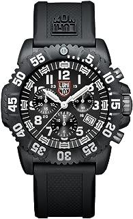 Navy SEAL Colormark Chronograph XS.3081 Reloj de Plásticolsera Cuarzo Hombre correa de Plástico Negro