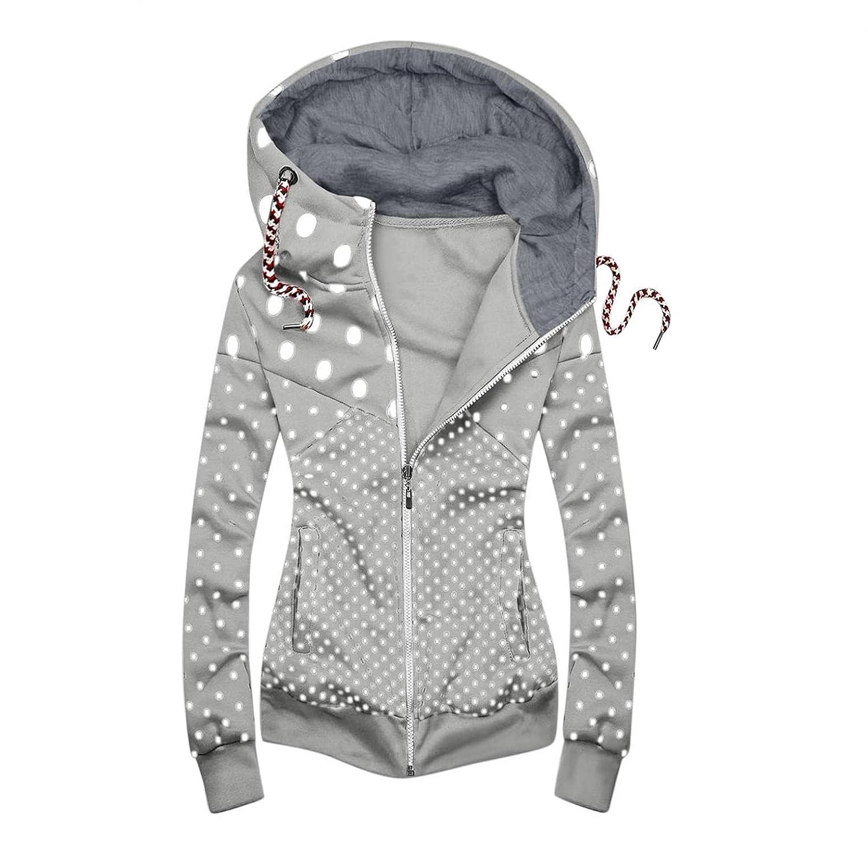 Padaleks Hoodies for Women Tops Jackets Dot Spasm Houston Mall price Fashion Lightweight