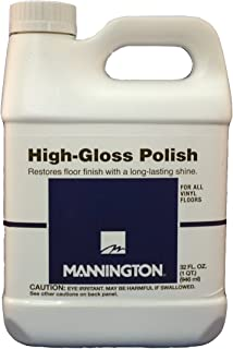 Mannington Award Series High Gloss Polish Restores Vinyl Floor Finish with Long Lasting Shine 32oz